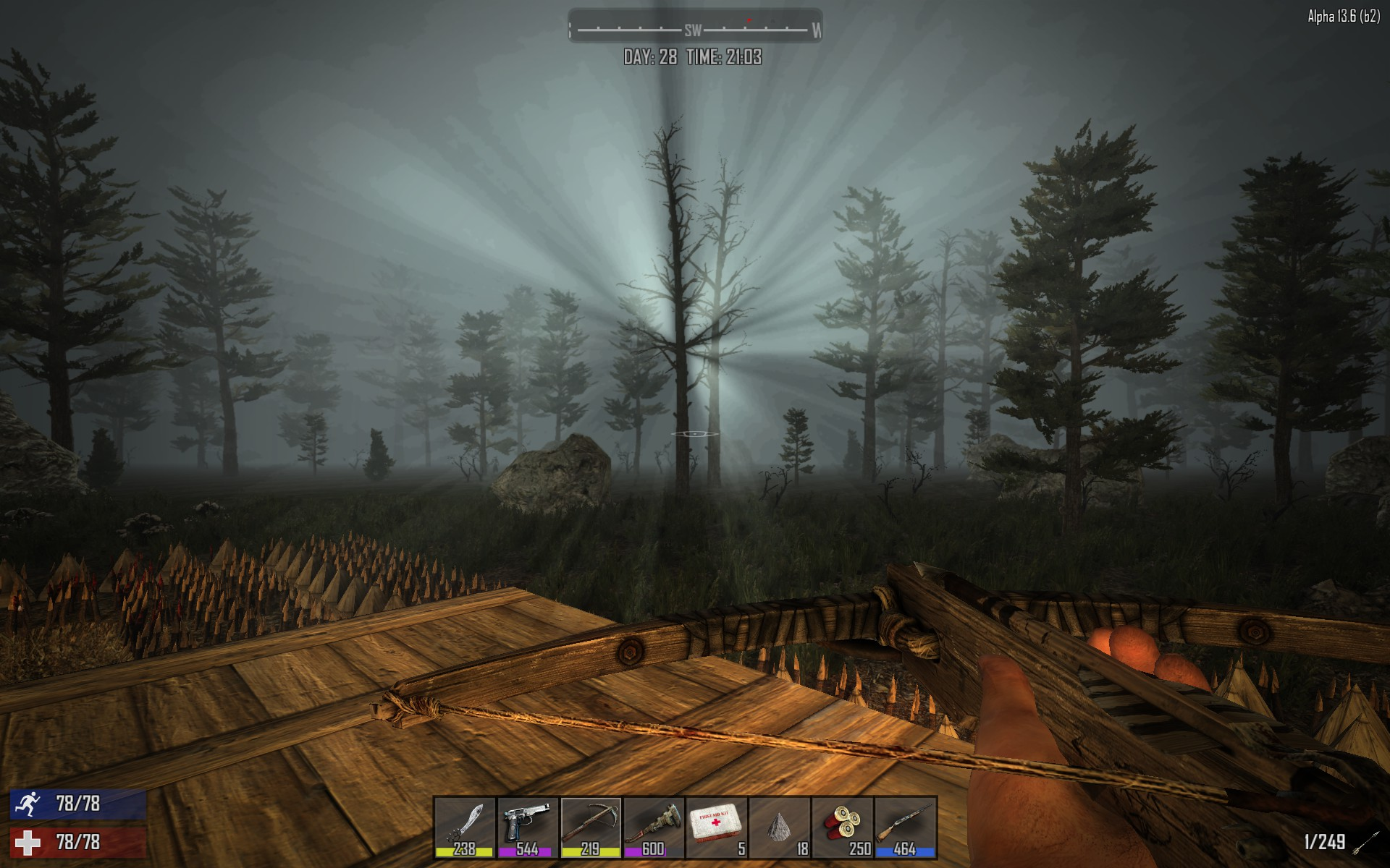 7 days to die alpha 17 bedrock level